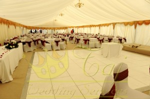 Large-marquee-with-lining-and-gold-swags