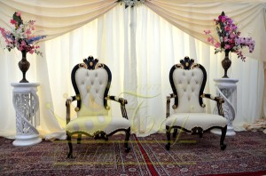 14. Taj Throne Chairs