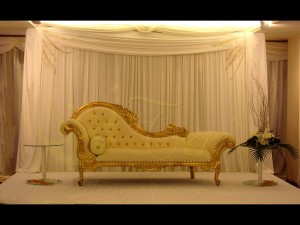 5. Gold Chaise Longue