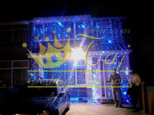 Blue-LED-Drape-Lights-for-Hire-Weddings-Southall