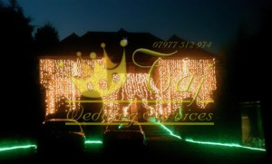 Wedding-Lights-on-Big-House-Ruislip-Indian-Wedding-Lights-Hire-Ruislip