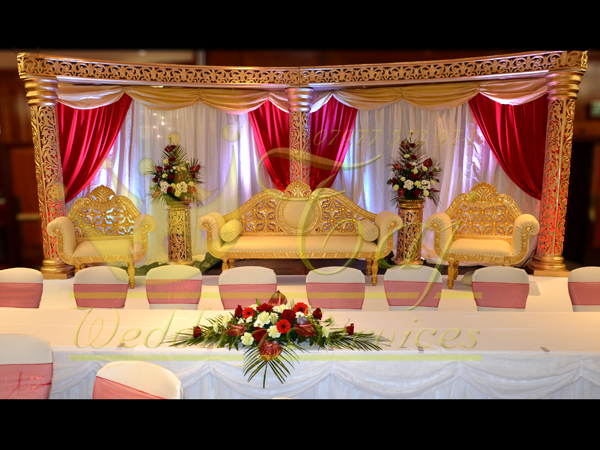 wedding stages asian wedding stages stage decoration in london