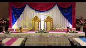 Head Table with Thrones