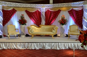 Mehndi Stage Background : Wedding stagesasian stagesstage decoration in london